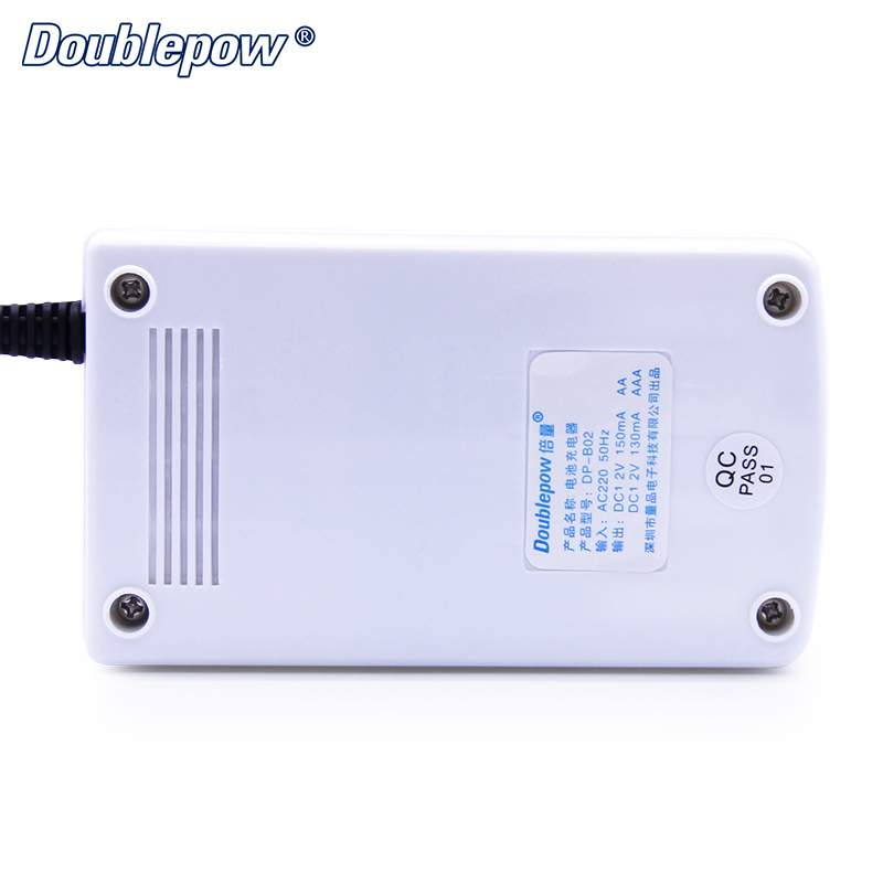 Custom logo basic and cheap AA AAA NiMH NiCD Battery Charger with Independent charging channels