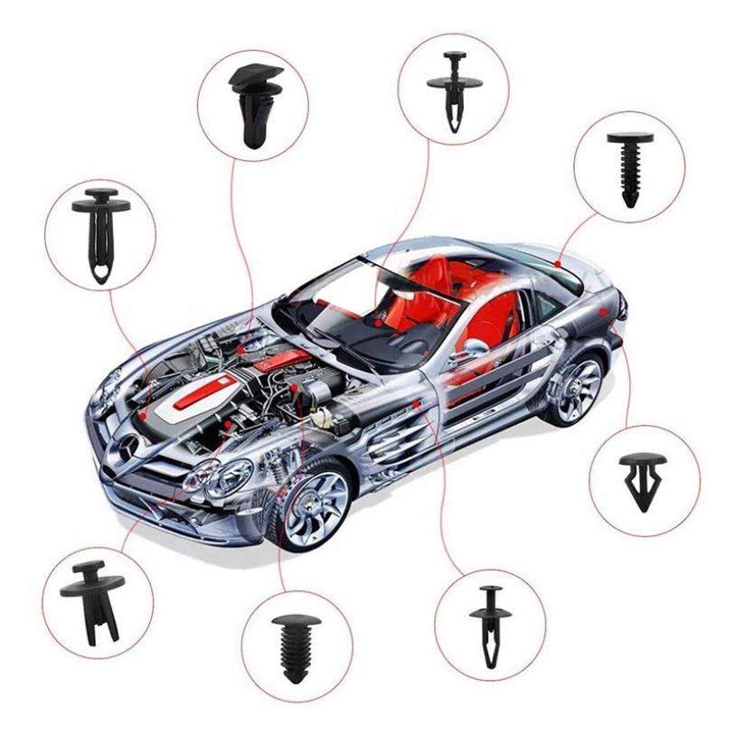 Car bumper fender buckle/Car fastener/Fenders Door Hood Trim Nylon Car Buckle Retainer