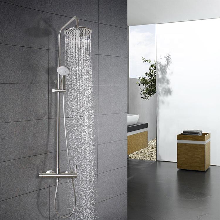 304 из нержавеющей стали для ванной комнаты набор для душа настенный смеситель для душа