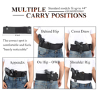 Holster For Holster For 10 Year Factory Belly Band Holster With Magazine Pouch For Glock 17 Universal