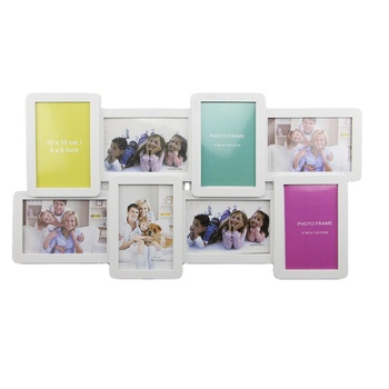Fashionable white set material multi photo frame family