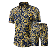 Navy & Yellow Floral