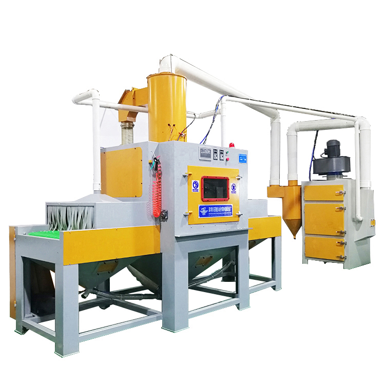 Through the type of automatic sand blasting machine manufacturers direct sales, customized automatic sand blasting machine