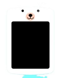 6.5 inch Cartoon lcd writing pad kid's menu Children Kitchen Toy Transparent drawing tablet