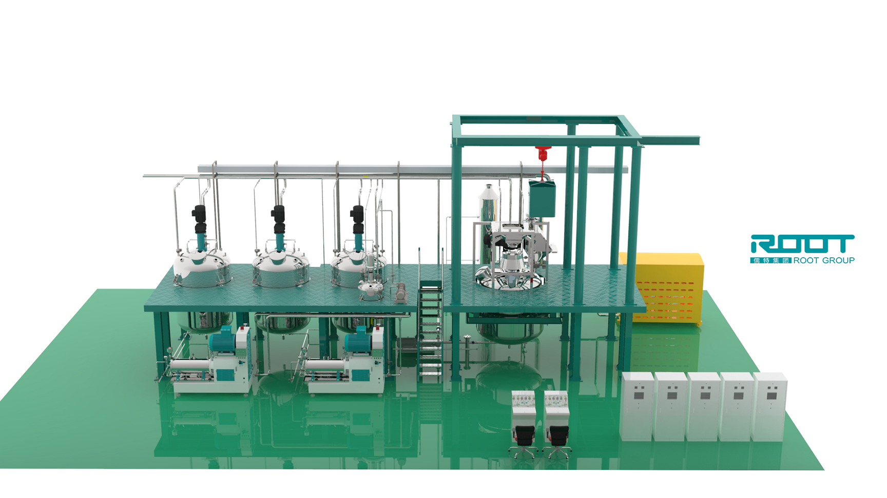 Root Cheap Price Pesticide SC Complete Production Line