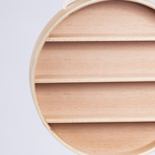 Decoration Modern Wooden Circular Household Wall Decoration