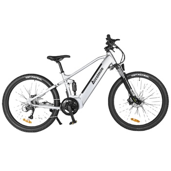 Accolmile electric bicycles for sale 27.5 MTB invisible battery for electric bike bicycle 48v 750w BAFANG motor ebike warehouse