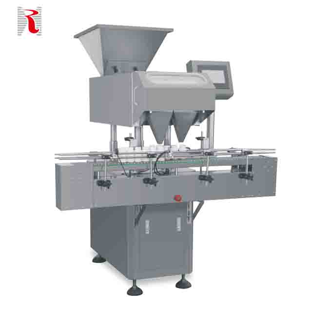 DJL-16 High Output Automatic Food Grade Capsule Counting Machine Tray