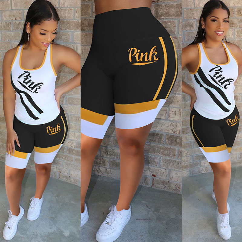 2020 Fashion Sexy Yoga Sport Fall Outfits Pants Two Pieces Set Women Clothing