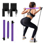 Gym Pilates Home Gym Pilates Body Shaping Portable Pilates Bar Kit With Foot Strap