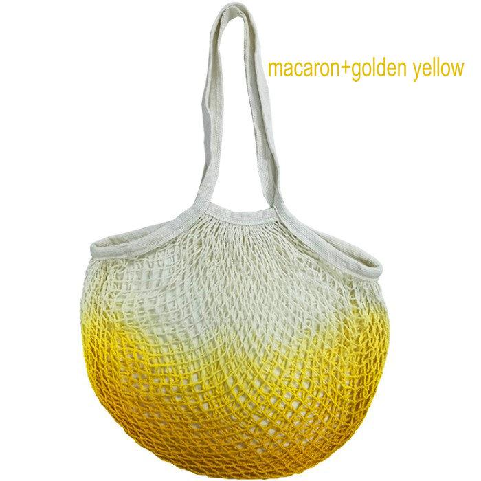 Экологичная хлопковая Сетчатая Сумка с логотипом на заказ, сумка для покупок из органических фруктов, овощей, продуктов питания