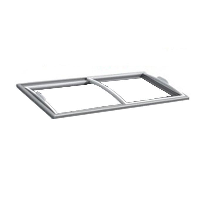 High Quality Tempered Low-e Glass Sliding Deep Freezer 2 Door For Chest Freezer