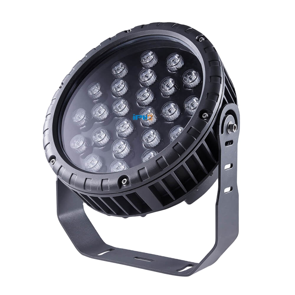 DC24V 24W Landscape Projector Lamp Led Rgb Flood Light Dmx Outdoor