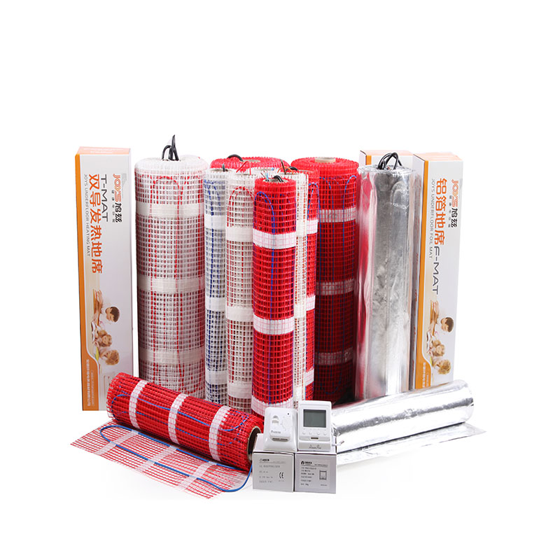 Radiant electric floor heating cable floor heating system