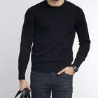 Mens Hot Sale Casual Solid Cashmere Pullover Mens Knit Sweater