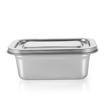 Tiffin Lunch Box Mens Bento Kimchi Container Inox Personalized Lunch Box Metal 304 Stainless Steel Korean 1200ml Food CLASSIC