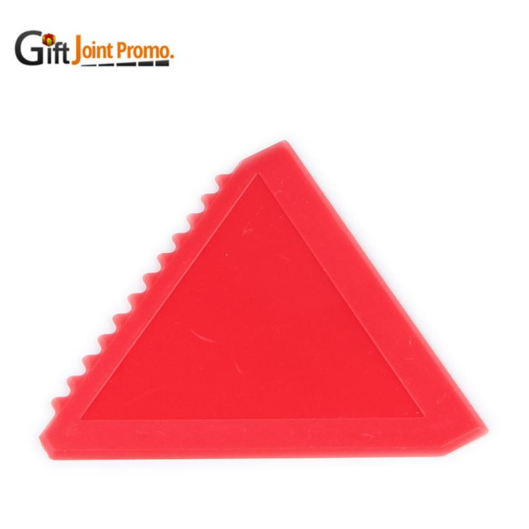 Promotional Triangle Plastic Handy Car Ice Scraper