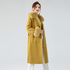Winter Coat Factory Supply Attractive Price Ladies Winter Jackets Warm Cashmere Coat