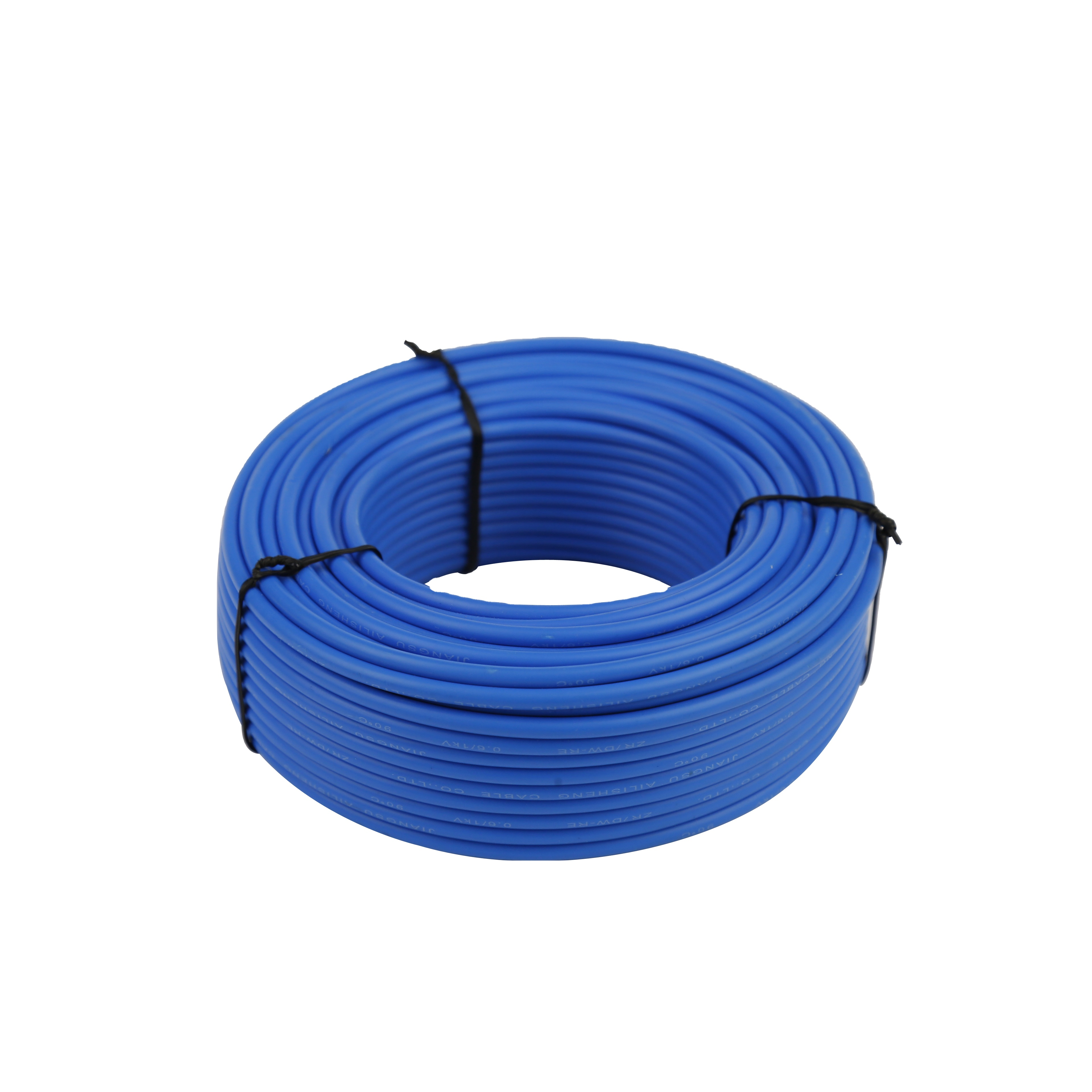 Blue PVC Cable Electronic Appliances Internerl Wiring Flexible Stranded 80℃//300V