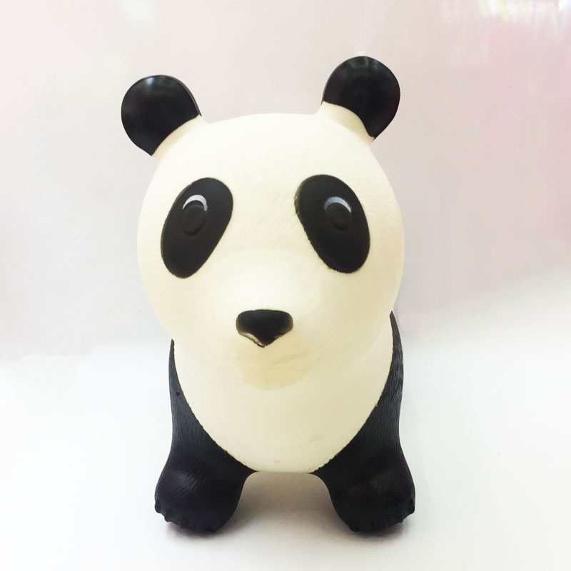 Environment friendly PVC outdoor and indoor cute panda animal toys