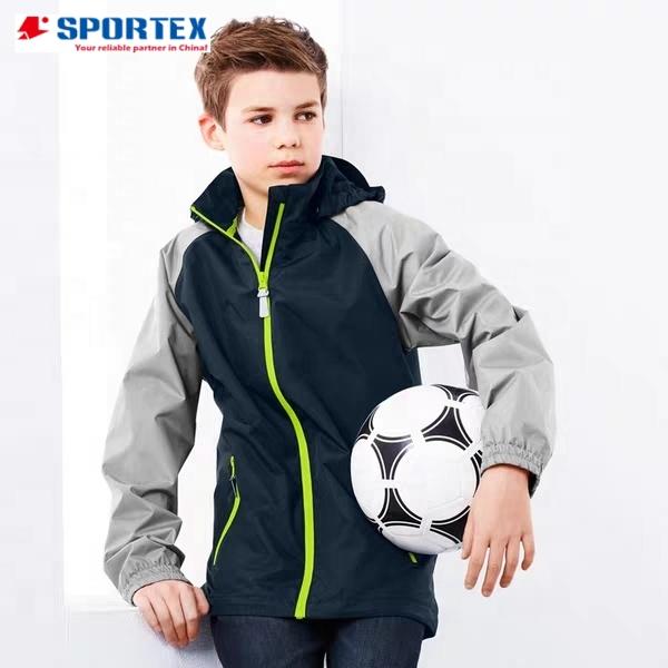 Custom boys sports jacket Waterproof kids outdoor Jackets For boys Clothes children sports jacket