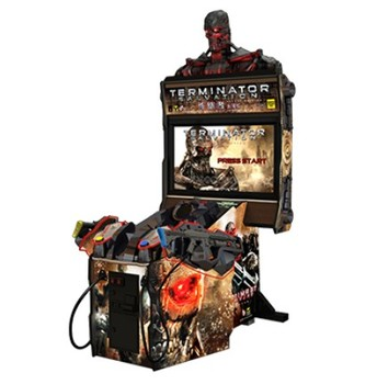 Hot Selling Coin Operated Indoor Amusement Arcade Shooting Game Machine Terminator Salvation 4 Game For Sale
