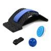Back stretcher+spiky roller+brush massage