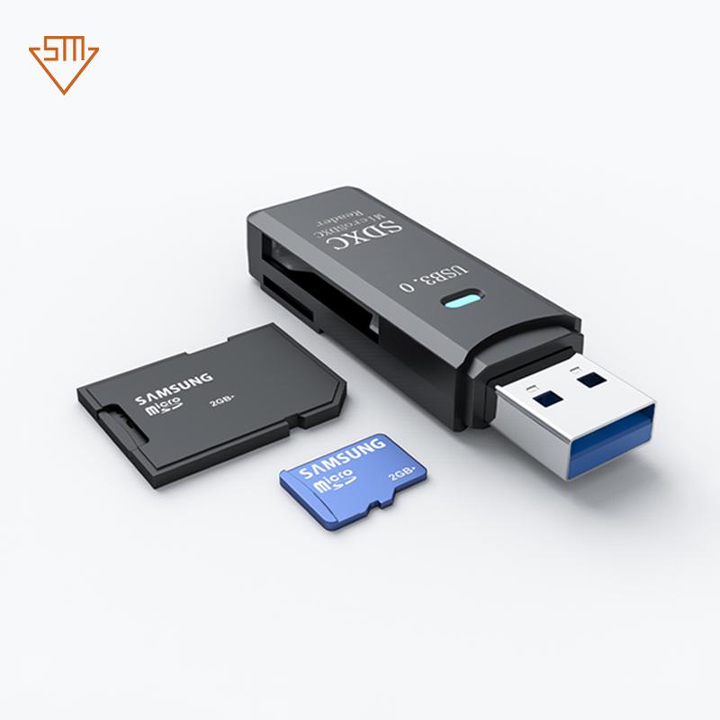 High Quality Mini Super Speed 5Gbps USB 3.0 Micro SDXC SD TF Card Reader Adapter - USBSKY   USBSKY.NET
