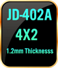 4x2 1.2mm thickness