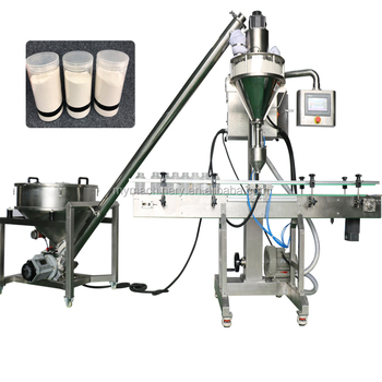 Granule And Doypack Flour Used Cup Measuring Manual Sachet Bottle With Powder Filling Packing Machine