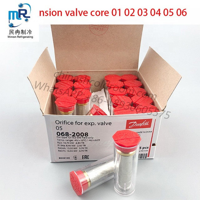 Large supply of air-conditioning refrigeration expansion valves, various models of cold storage thermal expansion valves