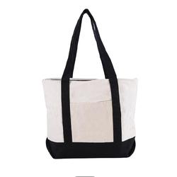 Пользовательский логотип перерабатываемый очень большой сверхмощный чистый холст хлопчатобумажная ткань сумка-тоут для покупок для продуктов
