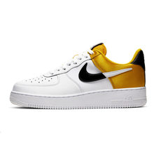 Nike Air Force 1 оригинальная кожаная мужская обувь для скейтбординга, удобные спортивные кроссовки на открытом воздухе # AJ7747()