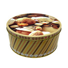 Biscuit Manufacturer Wholesale Candy Chocolate Christmas Biscuit Tin Box