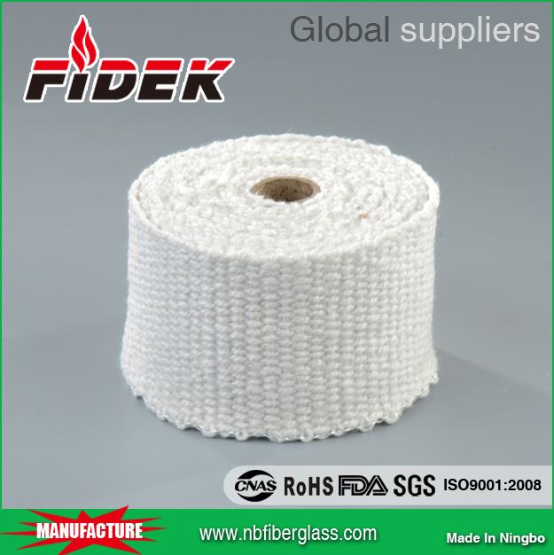Китайский поставщик алюминиевых силикатных керамических волоконных лент для камина