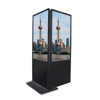 "55"" inch floor standing lcd advertising equipments players tv with standee"