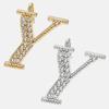 Y - 18k gold or rhodium