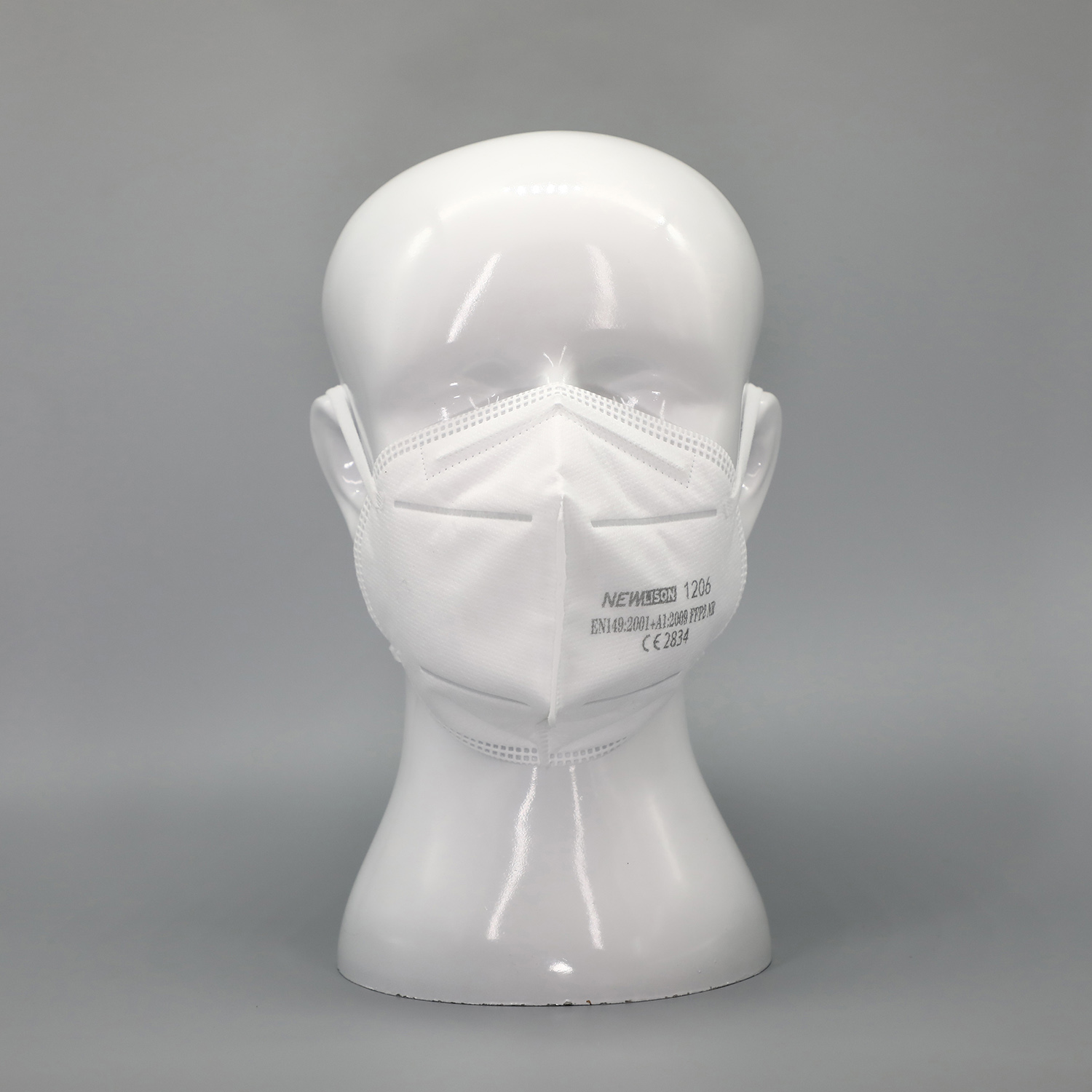 RTS 1206 FFP2 Newlison Mask Made In China CE Certificated PPE KN95 White List Custom Face Mask FFP2 - KingCare   KingCare.net