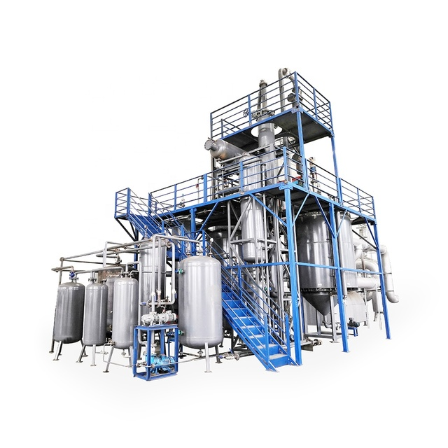 93% Recovery Rate European Standard Used motor oil purifier/ small scale waste oil recycling machine