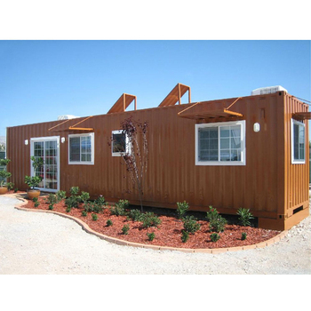 Build your own prefabricated modified container house 20fr 40ft container house as living home