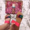RED snake tas met roze slipper