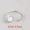 Silver-6 Opal