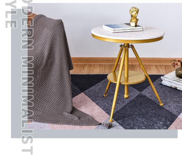 قابل للتعديل خشب متين أعلى مركز مقهى مكتب طاولة جانبية خشبية