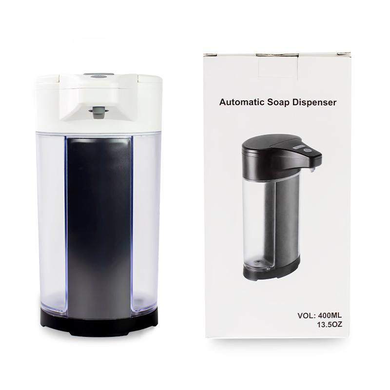 Оптовая продажа батарея ванная комната инфракрасный бесконтактный датчик бутылка с насосом 400 мл пены или жидкости автоматический диспенсер для мыла