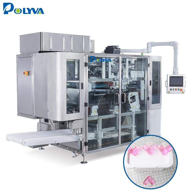 Упаковочная машина для стиральных и моющих капсул, растворимая в воде