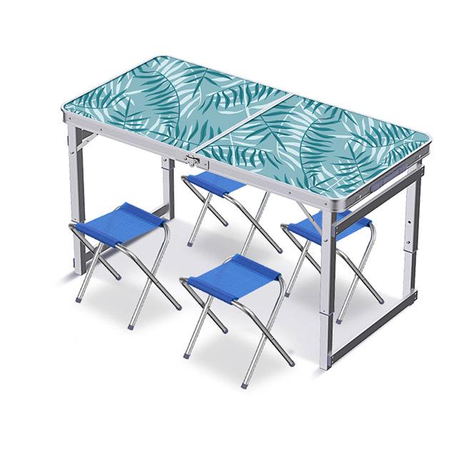 Outdoor Portable Aluminum Alloy Folding Table Chairs Set Buy Portable Folding Table And Chair Set Travel Outdoor Portable Aluminum Alloy Folding Table Chairs Set Travel Table Product On Alibaba Com