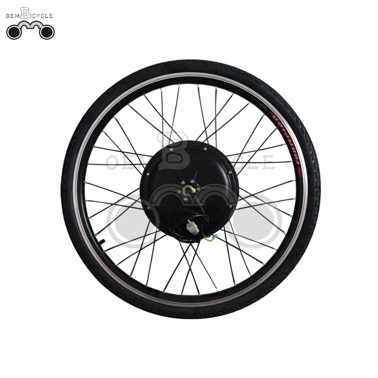 oembicycle front/rear 26inch 36v 500w electric bicycle conversion kit