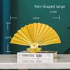 Fan-shaped large