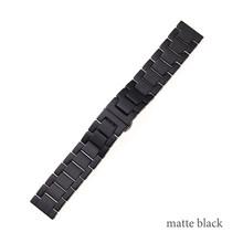Ремешок для часов из керамики, 20 мм, 22 мм, для часов с быстроразъемным регулируемым размером, для запястья большой руки(China)