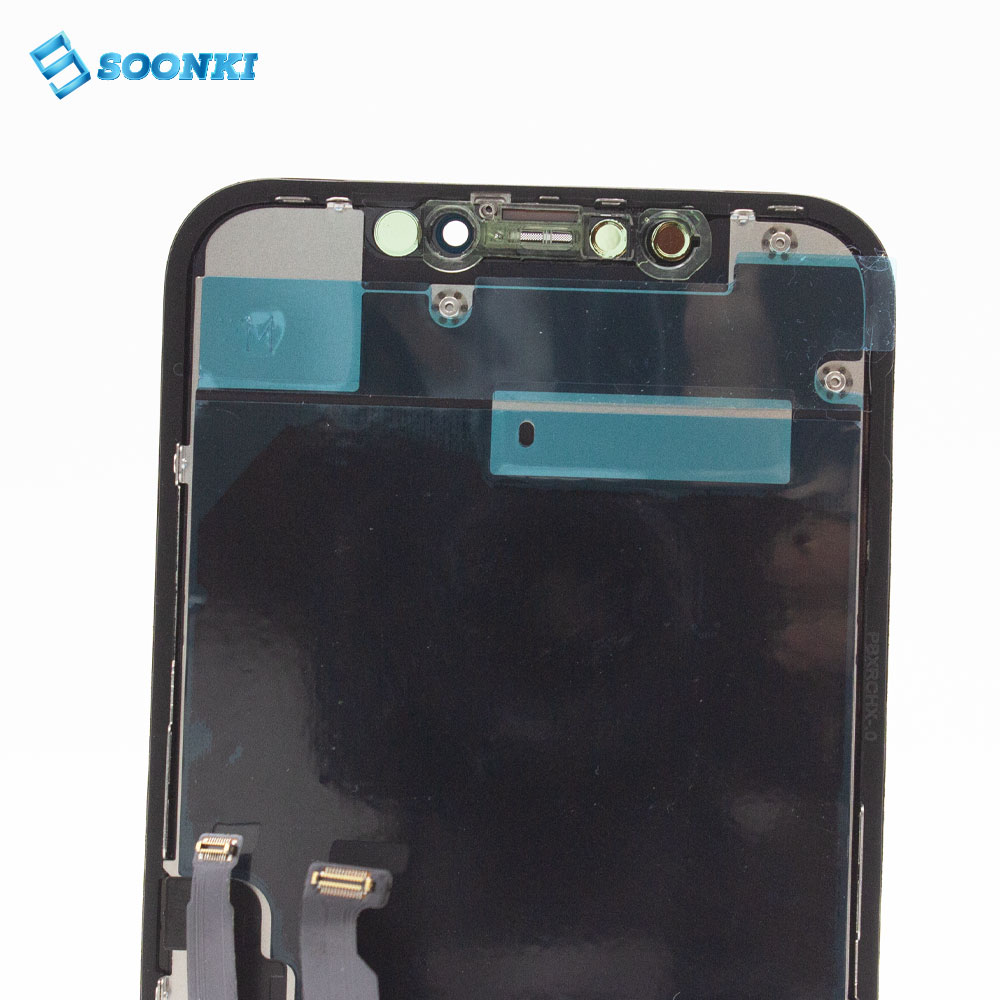 TS8 lcd сенсорный экран дигитайзер для iphone 11 X XR XS дисплей lcd сборка для iphone 11 ЖК-экран дисплей